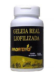 Geleia Real Liofilizada - 60 Capsulas