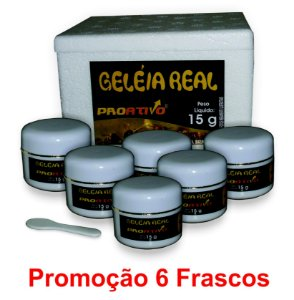 PROMOÇÃO 6 Geleia Real In Natura 15g