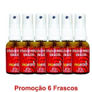 PROMOÇÃO 6 Própolis Spray Sem Álcool 35 ml