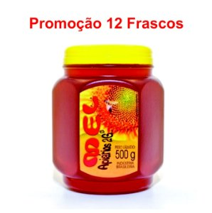 PROMOÇÃO 12 Mel Silvestre POTE 500g