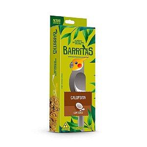 Barritas Para Calopsita Com Coco Zootekna 70g