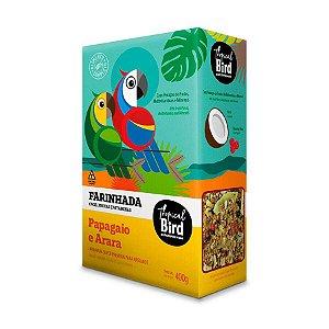Farinhada Para Arara E Papagaio Tropical Bird Zootekna 400g