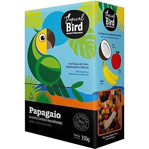 Alimento Extrusada Com Frutas Para Papagaio Tropical Bird 350g
