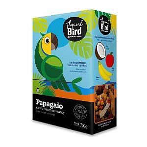 Alimento Extrusada Com Frutas Para Papagaio Tropical Bird 700g