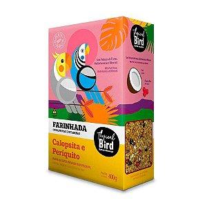 Farinhada Para Calopsita E Periquito Tropical Bird Zootekna 400g
