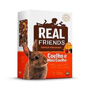 Ração Para Coelhos Com Frutas Real Friends Zootekna 500g
