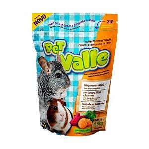 Ração Para Chinchila E Porquinho Da Índia Pet Valle Zootekna 1,8kg