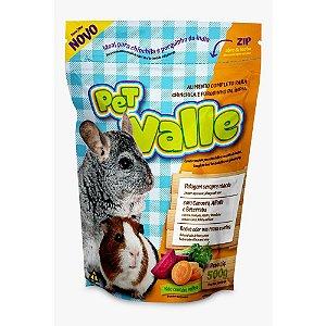 Ração Para Chinchila E Porquinho Da Índia Pet Valle Zootekna 500g