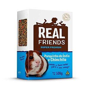 Ração Para Chinchila E Porquinho Da Índia Real Friends Zootekna 500g