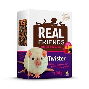 Ração Para Twister Real Friends Com Frutas Zootekna 500g
