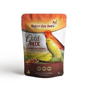 Alimento Para Canário Do Reino Gold Mix 500g