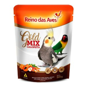 Alimento Gold Mix Calopsita 500g
