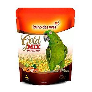 Alimento Gold Mix Papagaio 500g