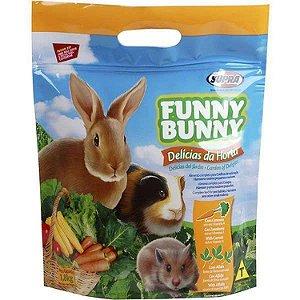Ração Para Coelho E Roedores Funny Bunny Supra 1,8kg