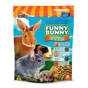 Ração Para Roedores Blend Funny Bunny Supra 500g