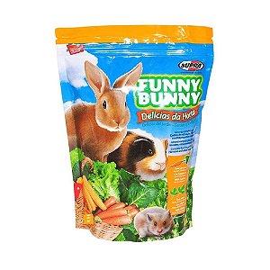 Ração Para Roedores Delícias Da Horta Funny Bunny Supra 500g