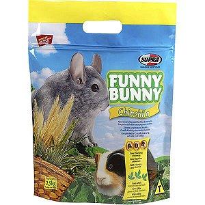 Ração Para Chinchila Delícias Da Horta Funny Bunny Supra 700g