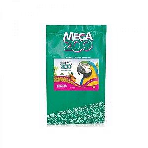 Alimento Extrusado Para Arara E Papagaio Do Congo Megazoo (A17) 4kg