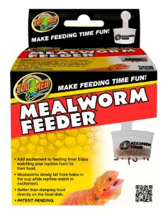 Zoo Med Alimentador De Tenebrios Mealworm Feeder Para Répteis