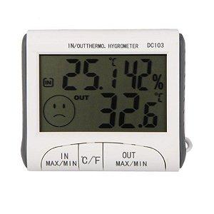 Termômetro E Higrômetro Digital