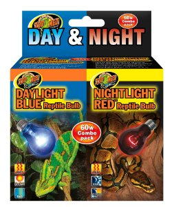 Combo Zoo Med Day E Night 60w Lampadas Repteis