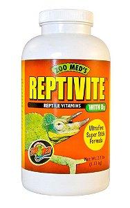 Vitamina Para Répteis Com D3 Zoo Med Reptivite 56,7g