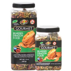 Alimento para Pogona Zoo Med Gourmet