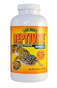 Vitamina Para Repteis Sem D3 Zoo Med Reptivite 56,7g