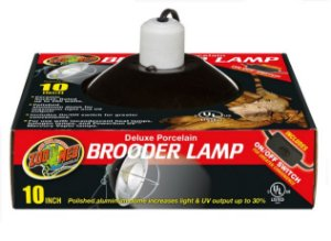 Luminária Para Répteis Zoo Med Clamp Lamp 22CM