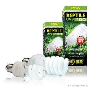 Lampada UVB Para Répteis Exo Terra Reptile 5.0 Iguana Jabuti Teiu