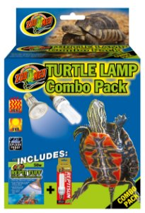 Combo de Lampadas UVA e UVB Para Tartaruga e Iguana Zoo Med Combo Pack