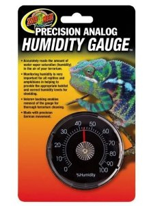 Medidor de Umidade  Zoo med Precision Analog Humidity Gauge Th-21