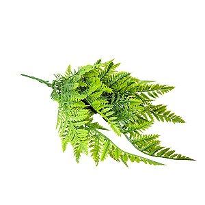 Planta Artificial Samambaia Para Decoração de Terrários de Répteis
