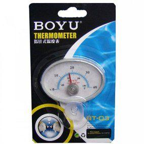 Termometro Boyu de Vidro BT-03 C/ Ventosa