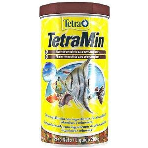 Ração Para Peixes em Flocos Tetra Min Flakes