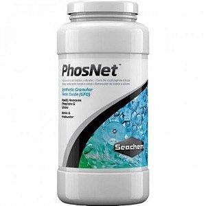 Removedor de fosfatos e silicatos Seachem Phosnet - 250G