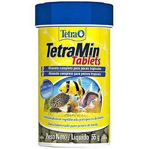 Ração para Peixes em Tabletes Tetra Min Tablets - 55gr