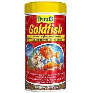 Ração para Goldfish Tetra Goldfish Flakes Em Flocos 52g