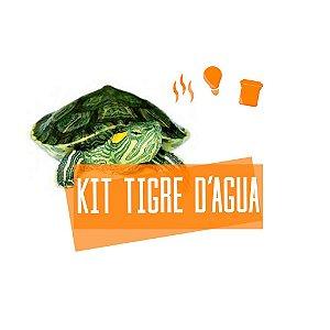 Kit Completo Para Tartaruga Tigre D'Água Com Brinde