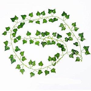 Planta Artificial Hera Para Decoração de Terrários de Répteis