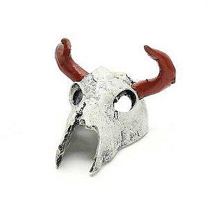 Toca e Esconderijo Esqueleto Cabeça de Búfalo Para Répteis