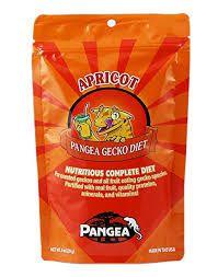 Alimento Para Crested Pangea Apricot Sabor Damasco 56g