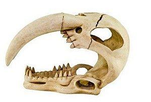 Enfeite de Resina Dente de Sabre Para Repteis e Anfibrios G