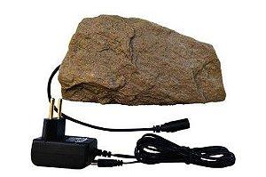 Pedra Aquecida Para Repteis Com Controle de Temperatura Automático - AREIA
