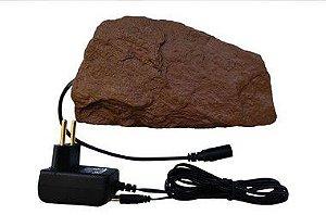 Pedra Aquecida Para Repteis Com Controle de Temperatura Automático - TERRA