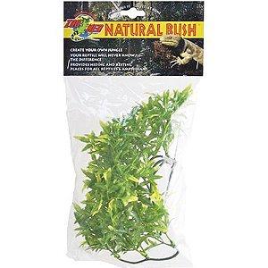 Planta Artificial Bolivian Croton P Zoomed Para Decoração de Terrários de Répteis