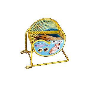 Gira Gira Mini Para Hamster Anão Bragança Exercitador Aramado