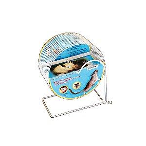 Gira Gira Padrão Normal Para Hamster Bragança Exercitador Aramado