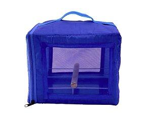 Bolsa De Transporte Para Calopsita Pet Piu Azul