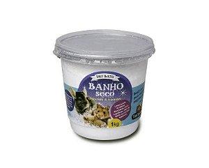 Banho Seco para Hamster e Chinchila Paiol Do Bicho Dry Bath - 1kg